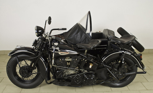 Harley Davidson Ohw Twin Side Knuckleheads 1000cc del 1941