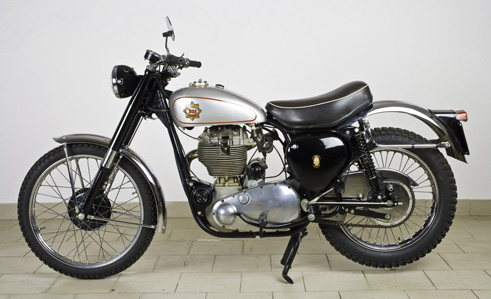 BSA Gold Star 500B 500cc del 1962