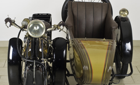 James 7 HP Side 750cc del 1922